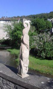 sculpture sur grès