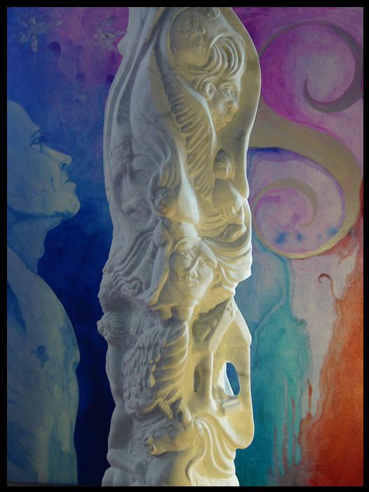 la porte du paradis sculpture