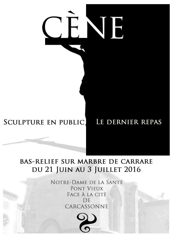 sculpture de la Cène