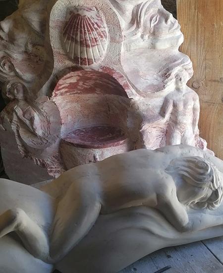 Atelier de sculpture à Boissezon dans le dans le Tarn.
